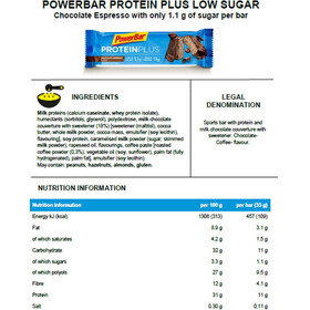 PowerBar ProteinPlus Riegel Box Chocolate Espresso 30 x 35g